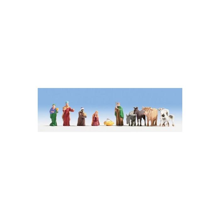 H0 / Figurines de crèche de Noël