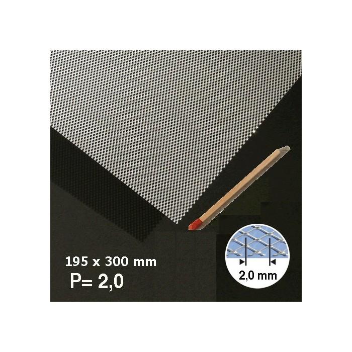 Métal déployé aluminium 2mm