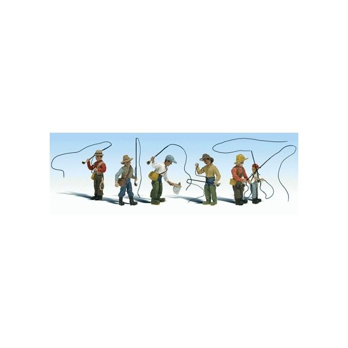 Scène de pêche à la mouche
