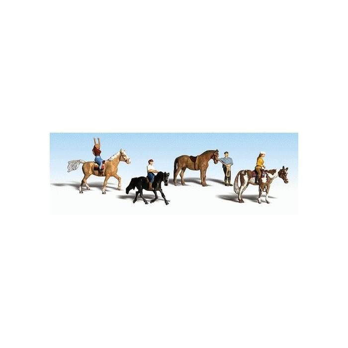 Scènes d'équitation