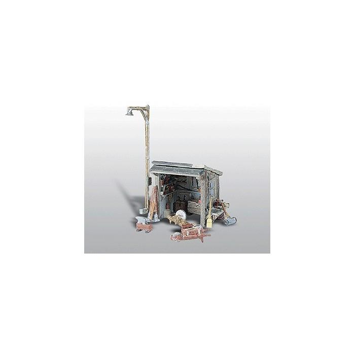 HO / Woodland Scenics : Maisonnette de bricoleur