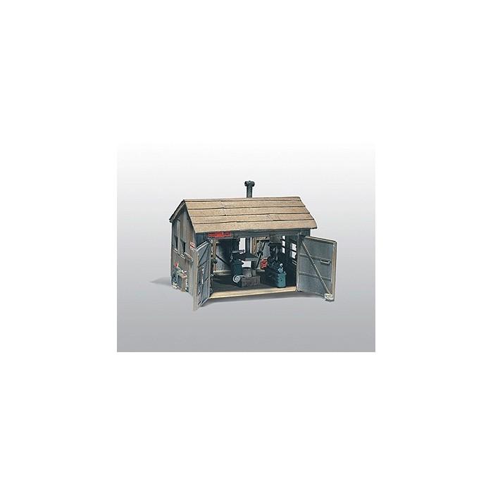 HO / Woodland Scenics : Scène de forge avec foyer