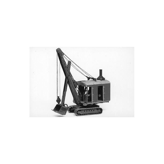 ERIE B-2 Grue à vapeur avec pelle excavatrice. Kit Jordan