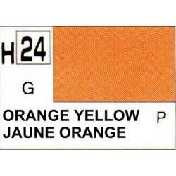 GUNZE H024 JAUNE ORANGE BRILLANT