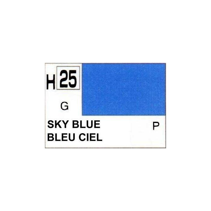 GUNZE H025 BLEU CIEL BRILLANT