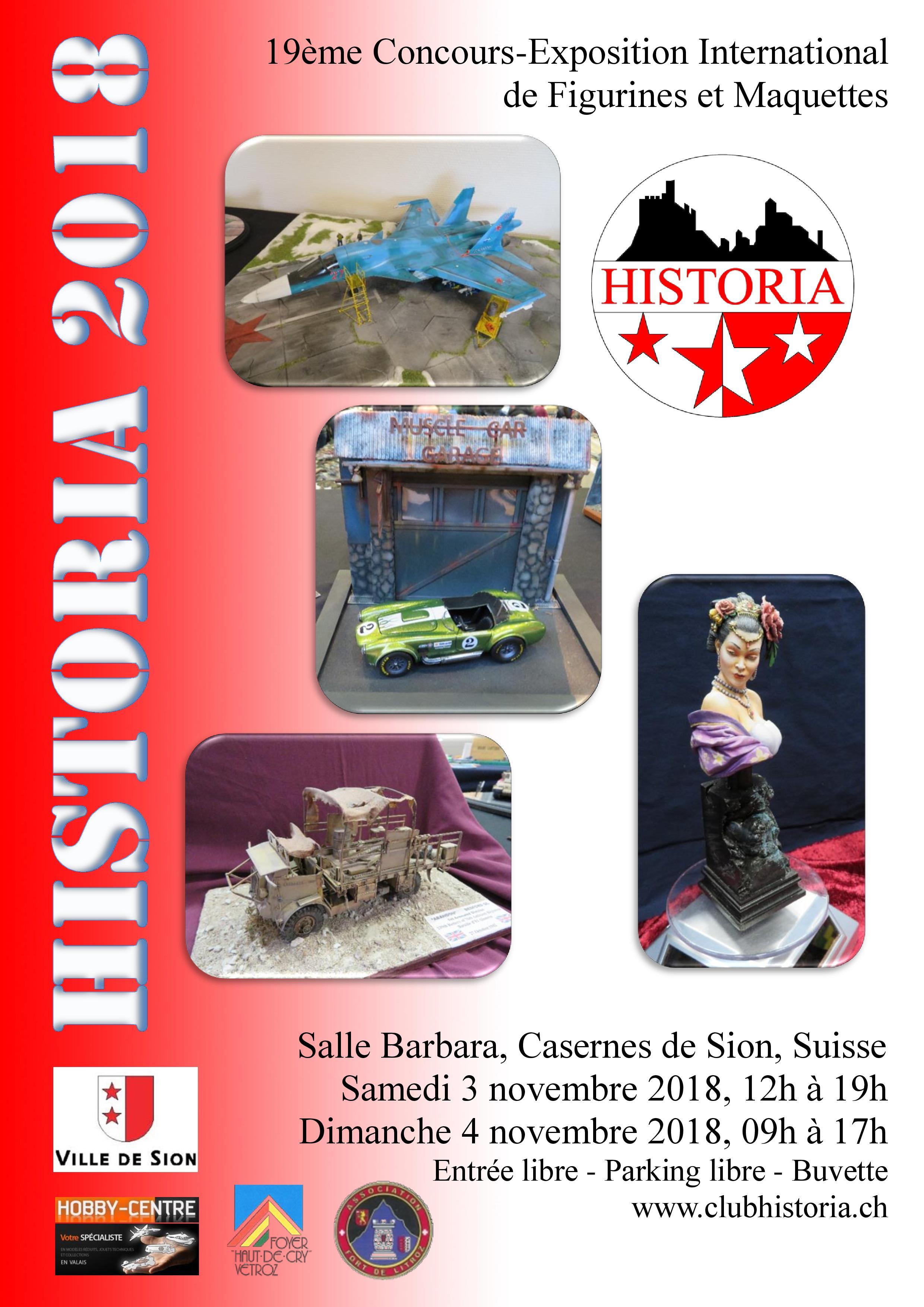 Expo Historia 2018 à Sion