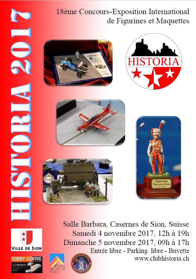 Expo Historia 2017 à Sion